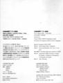 1992年「CABARET FOR AIDS」, CATALOGUE -(スケジュール)