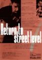 """1991年9月19日 """"Return to street level"""" カーレ・ラール ライヴ / Studio 200"""