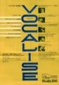"""1991年9月18日""""VOCALISE"""" カトリーヌ・ジョニオー ライヴ / Studio 200"""