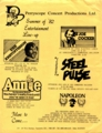 1982年夏 STEEL PULSE, JOE COCKER / VANCOUVER'S COMMODORE BALLROOM