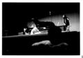 """1981年9月5日 """"10Minutes Solo Improvisation Festival"""" 園田(左)/ 竹田(右, 進行)"""