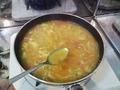 炊き込む前に、味調整