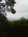 彦根城本丸から琵琶湖をのぞむ