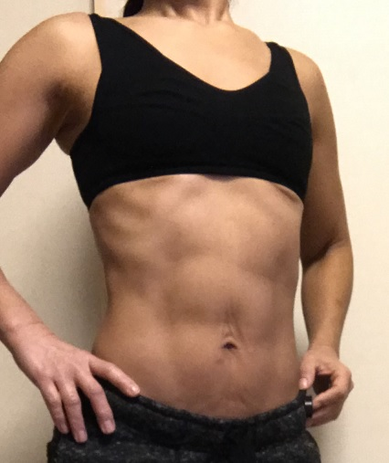 50代筋トレ女子50代女性58歳の腹筋1