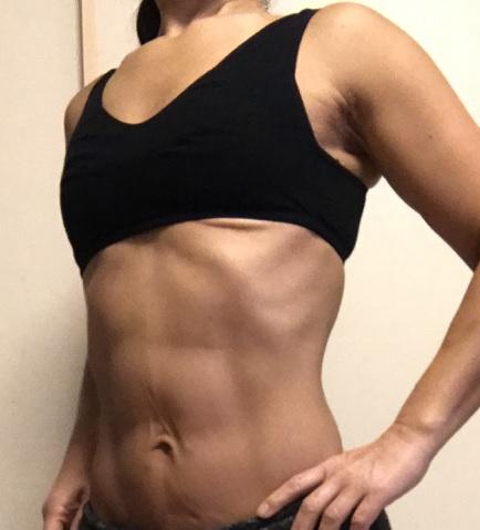 50代筋トレ女子50代女性58歳の腹筋2
