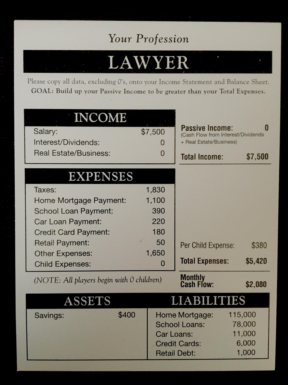職業カード