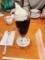 椿屋珈琲のコーヒークレミアフロート