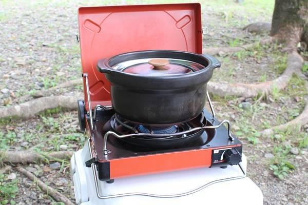 キャンプの炊飯