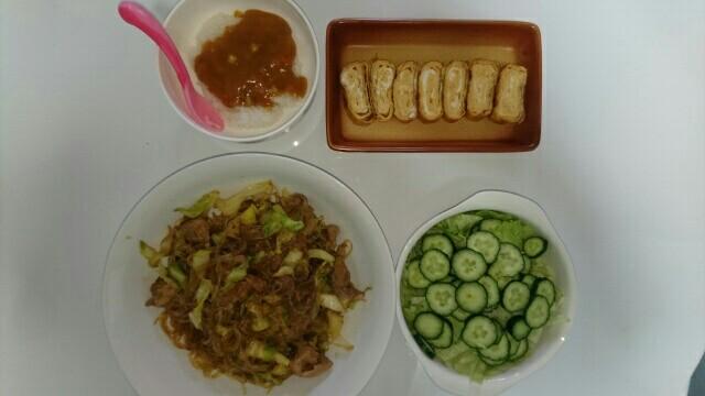 13日目昼食