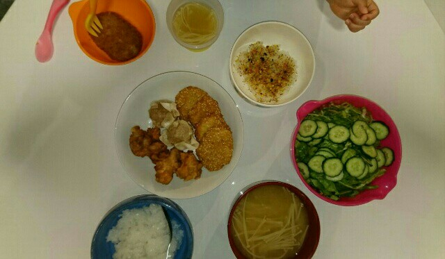 18日目夕食