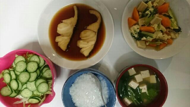 53日目夕食