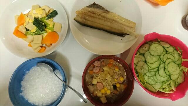 57日目夕食