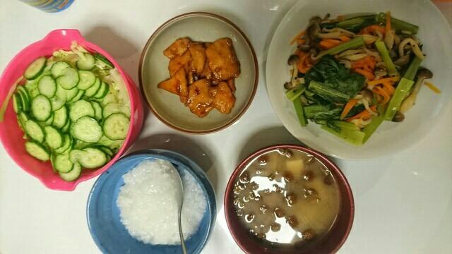 58日目夕食