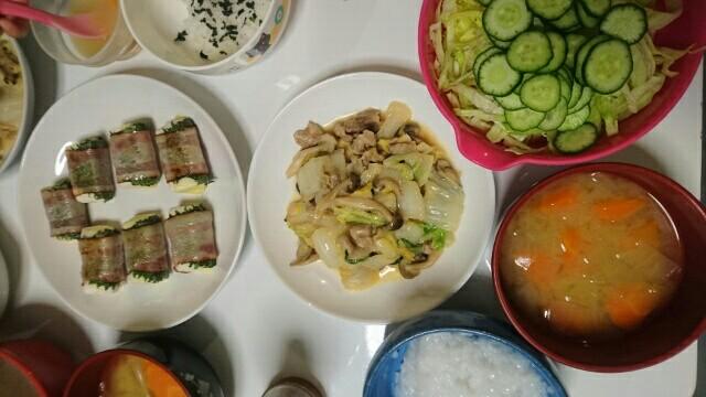 59日目夕食