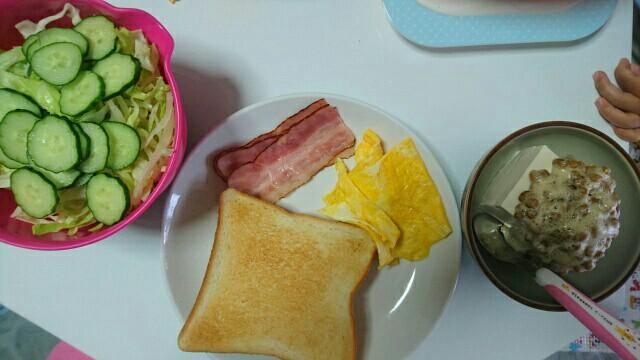 62日目朝食