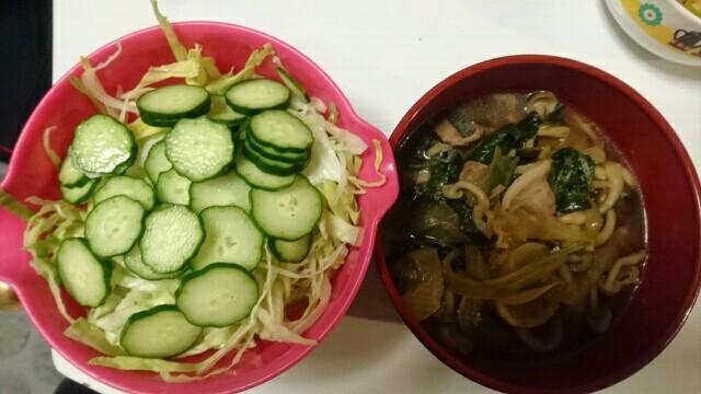 69日目夕食