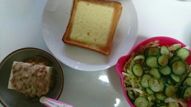 71日目朝食