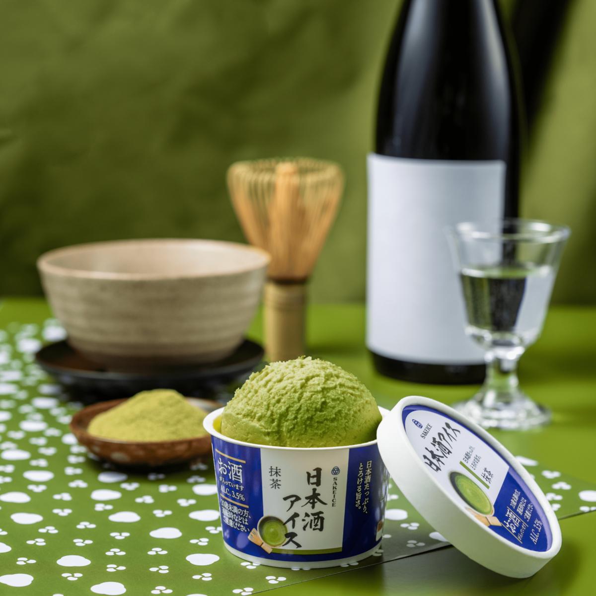 日本酒アイス-抹茶-|theDANN media