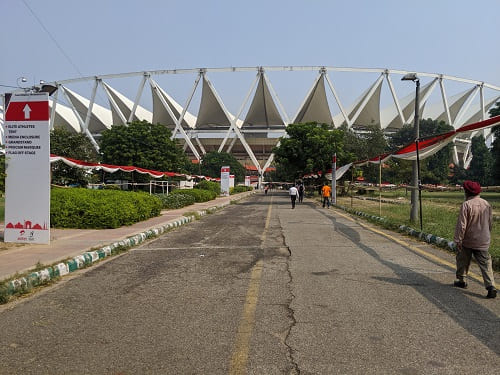ジャワハーラール・ネルー・スタジアム入口