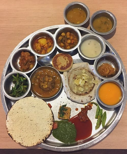Gujarati Thali(グジャラーティー・ターリー)