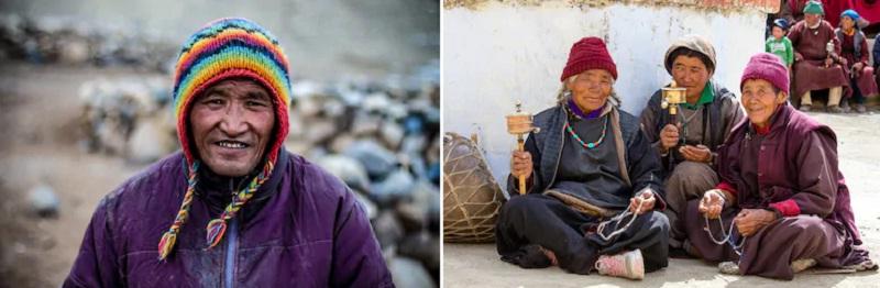 ラダックに住むチベット系住民