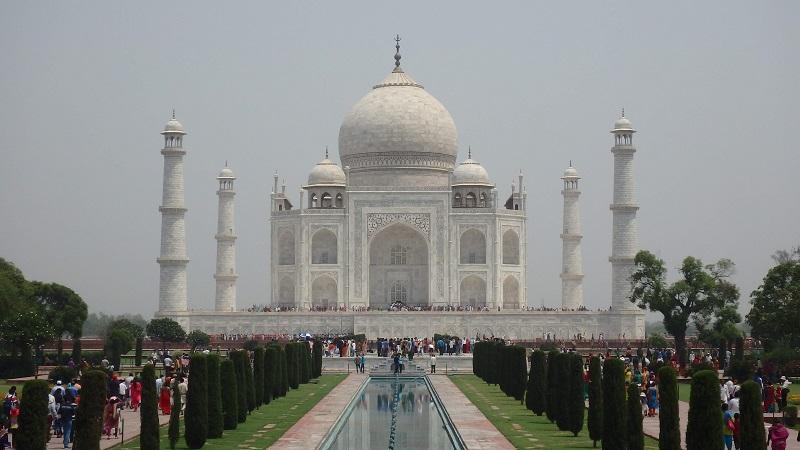 インドの象徴、タージマハル