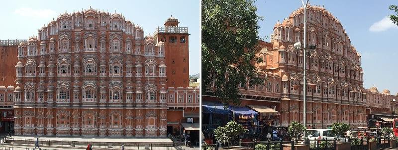 ジャイプールの風の宮殿(Hawa Mahal)