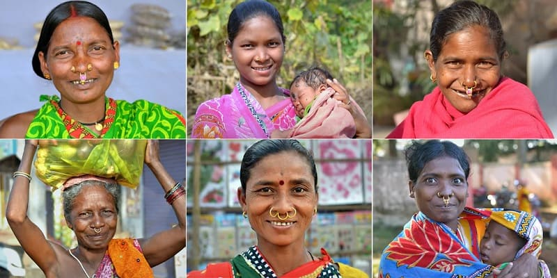 アディヴァシの女性たち