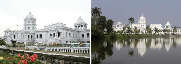 トリプラ州都アガルタラのウッジャヤンタ宮殿