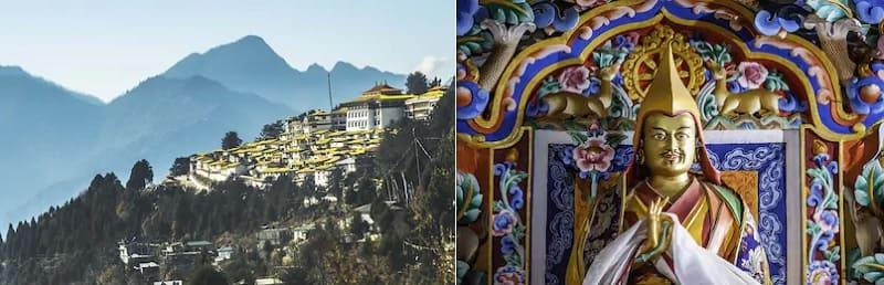 世界で二番目に大きいチベット仏教の修道院タワン修道院