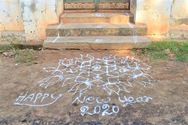 (4) 2020年新年のランゴリ(シンプル)