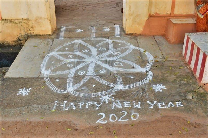 (6) 2020年新年のランゴリ(シンプル)