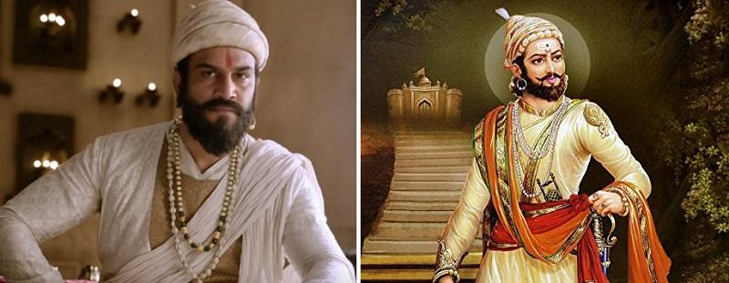 インド映画Tanhaji(タナジ)でシバージ役を演じるシャラド・ケルカール