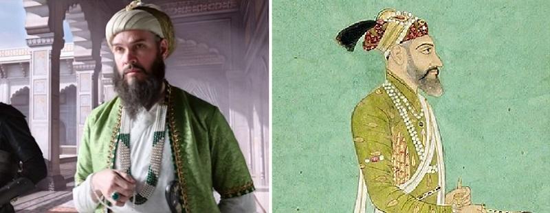 インド映画Tanhaji(タナジ)でアウラングゼーブ役を演じるルーク・ケニー