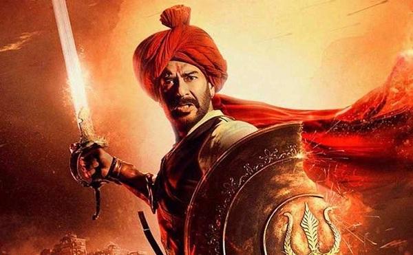 インド映画Tanhaji(タナジ)でタナジ役を演じるアジャイ・デーヴガン