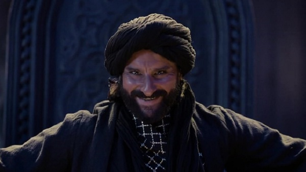 インド映画Tanhaji(タナジ)でウダイバーン役を演じるサイフ・アリ・カーン