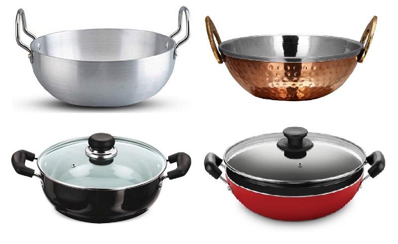 カダイパニールを作るのに用いられる鍋(カダイ)