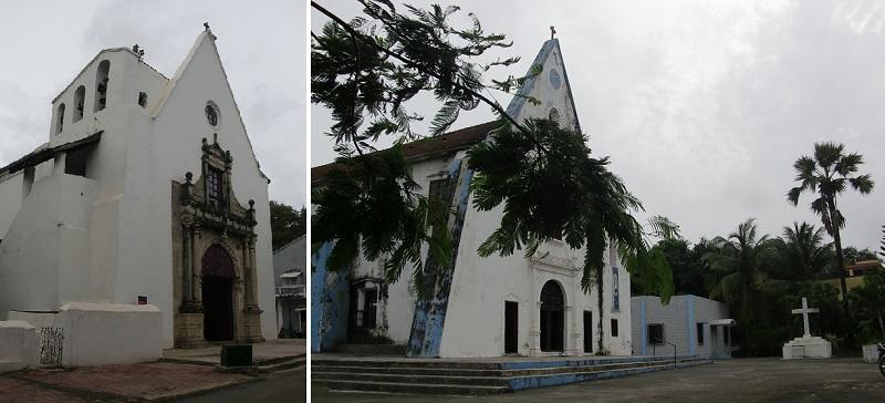 旧ポルトガル植民地ダマンにある教会