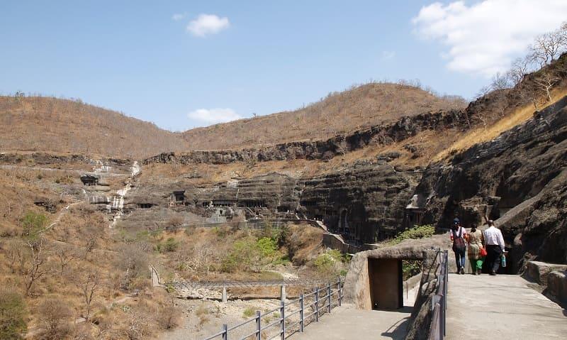 世界遺産のアジャンター石窟寺院
