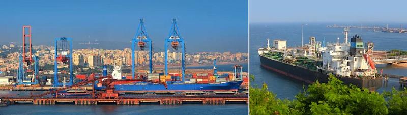 インド有数の貿易港があるビシャカパトナム