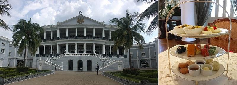 ハイデラバードにある宮殿ホテル(タージ・ファラクヌマ・パレス・ホテル)