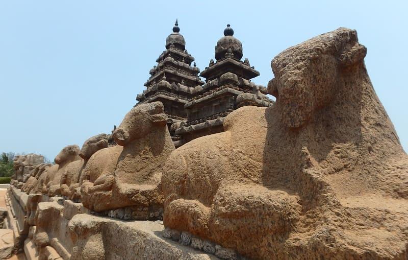マハーバリプラムの海岸寺院