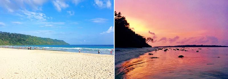 アジアNo.1ビーチに選ばれたハブロック島のラダナガールビーチ