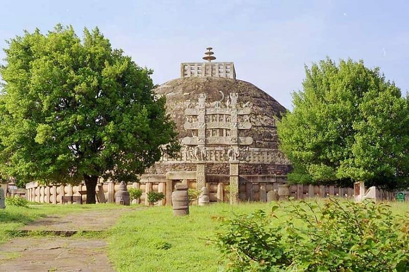 サーンチの仏教遺跡