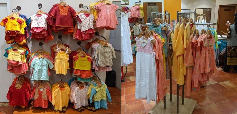 Fabindiaの子供服