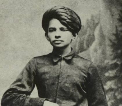 少年時代のガンディー(1886年)