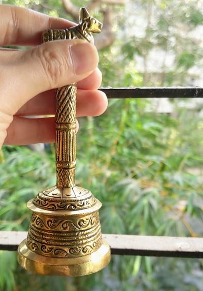 Janata Curfew夕方5時に鳴らしたベルの画像