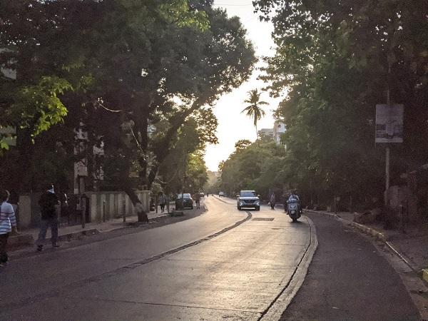 ロックダウン16日目のムンバイの道路の様子