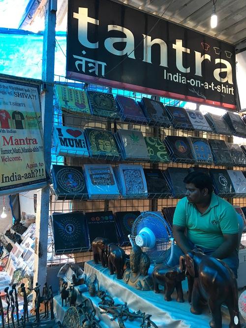 ユニークなインドデザインのTシャツブランド「tantra」