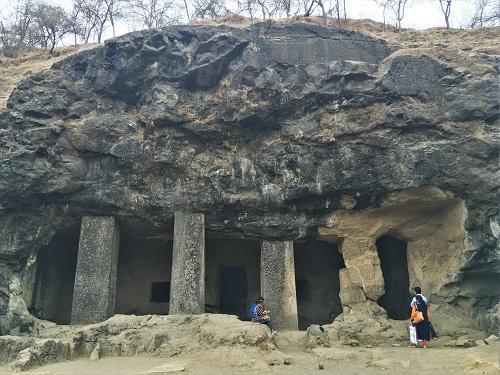 エレファンタ島石窟寺院 第2窟